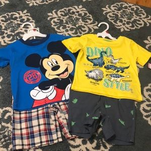 NWT set of 2 Toddler boys outfits